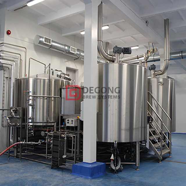 2000L Craft Beer China Fabricant Hotel Brewery Equipment Cellar Commercial And Customizable Beer Machine for Sale