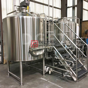 1500L 2/3/4 Navires Beer Brewhouse Brewing System Brew Kettle for Commercial Used Beer Brewery Equipment
