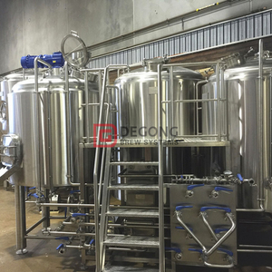 1000L Clé en main Commercial Beer Steel Equipment Brewing à vendre