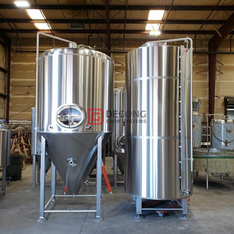 2000L Dimple Jacket Automatic Stainles Steel Beer Brewing Fermentation Tank for Sale
