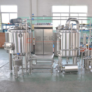 500L Complet Automated Craft Beer Brewing System Three Pot Beer Cooking Equipment with PED Certification
